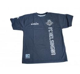 Diadora - T-shirt - Børn - Mørkegrå