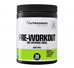 Nutramino +Pro Pre-Workout - Sour Apple - 315 g