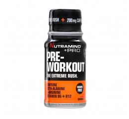 Nutramino +Pro Pre-Workout Shot Orange - 60 ml