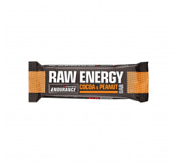 Nutramino Raw Energy bar Cocoa & Peanut (Endurance) - 60g