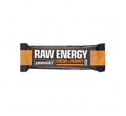Nutramino Raw Energy bar Cocoa & Peanut (Endurance) - 60g