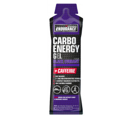Nutramino Carbo Energy + Caffeine Gel Blackcurrant - 45g