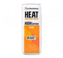 Nutramino HEAT Orange, Low caffeine, 330 ml